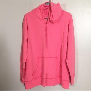 JMS Just My Size Athletic Fleece Hoodie Jacket 16w